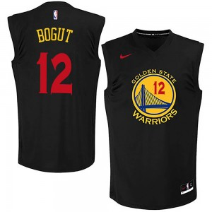 Youth Andrew Bogut Golden State Warriors Nike Swingman Gold Black New Fashion Jersey